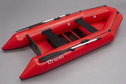 Bengar opblaasbare boot set L-280 Lotus 280, ideaal geschikt als visboot in rood
