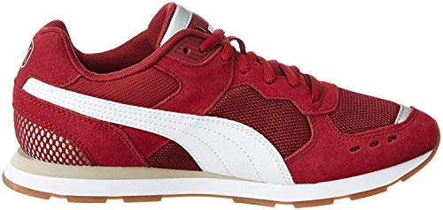 PUMA Vista, Zapatillas de Deporte Unisex Adulto, Rojo (Cordovan White-Silver Gray), 42 EU