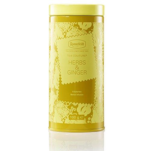 Ronnefeldt Herbs & Ginger - Tea Couture® - Aromat. Kräutertee, 100g, loser Tee