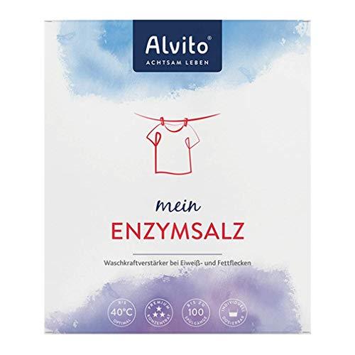 Alvito Enzymsalz Waschmittel, Pulver, Weiß, 1000g, 1000