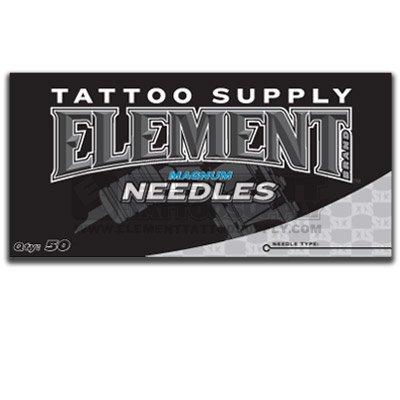 5M Element Flat Magnum Minneapolis Mall MAG Shader 50 Availab Pack Tattoo Max 69% OFF Needles