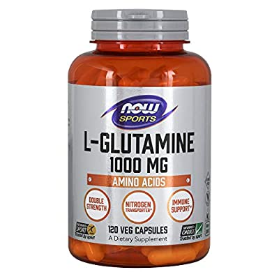 Now L-Glutamine (1000mg) 120 caps by Now Foods