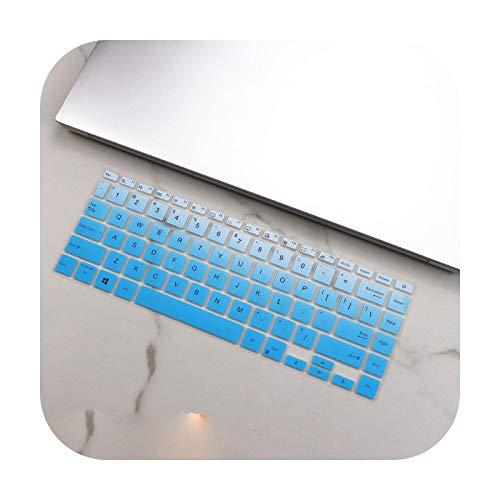 Funda protectora de silicona para teclado Asus Vivobook S14 M433Ia M433I M433L M433 Ia Ryzen 5 4500U 2020 de 14 pulgadas, color azul