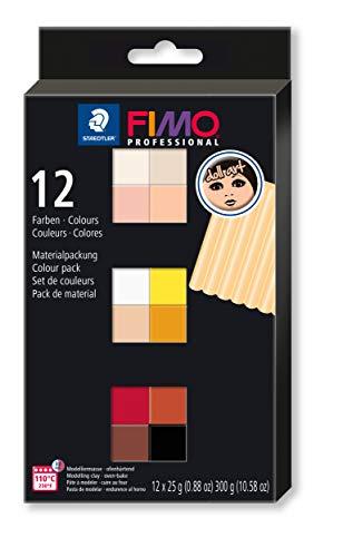Staedtler FIMO Professional Doll Art 8073 C12-1 - Pasta modellante per modellare bambole