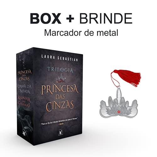Box Trilogia Princesa Das Cinzas + Marcador De Metal
