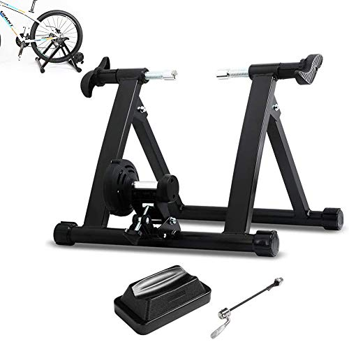 DNNAL Roller Bike Training, Premium Steel Bike Indoor Heimtrainer Stationäres Training Fahrradtrainer Stand
