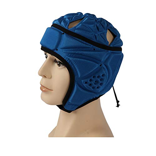 Best Goods Club Plus - Casco de rugby para hombre (51 cm), color azul