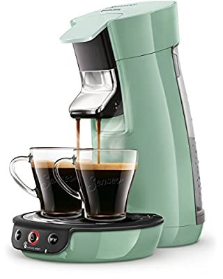 Senseo Viva Café HD6563/10 coffee maker Freestanding Pad coffee machine Green 0.9 L 6 cups Fully-auto Viva Café HD6563/10, Freestanding, Pad coffee machine, 0.9 L, Coffee pod, 1450 W, Green