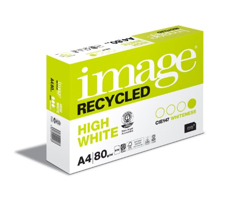 Antalis 468429 Image Recycled Kopierpapier DIN A4, 80 g/qm, 500 Blatt, hochweiß