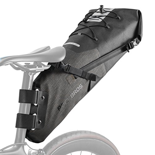ROCKBROS Waterproof Bike Saddle Bag 12L Large Capacity...