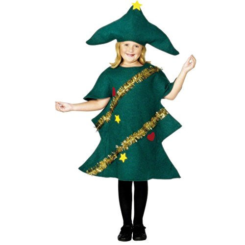 NET TOYS Costume Abete Natale bambini115- 5-7 Anni Travestimento Albero