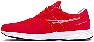 SEGA Red Marathon Running Shoes