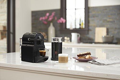 Nespresso Inissia Espresso Maker with Aeroccino Milk Frother by De'Longhi, Black