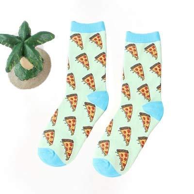 Calcetines Divertidos Felices para Hombres/Mujeres con Estampado artístico Calcetines de Invierno Bonitos con Calcetines de algodón de Comida de Sushi de Aguacate-a9-37-43