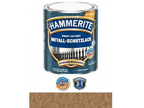 750 ml Hammerite Direkt auf Rost Metall-Schutzlack Kupfer, Hammerschlag