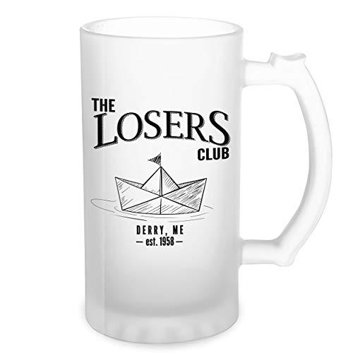 The Losers Klub King Stephen It Pennywise Transparente taza de Stein de la cerveza 0.5L
