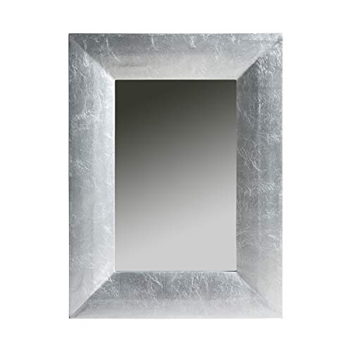 DECORHOME - Espejos Modernos - Espejo Lidia Silver Plata (80x60)