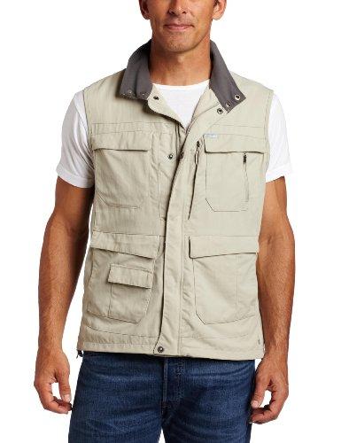 Columbia Men's Silver Ridge Vest, Gravel, X-Large