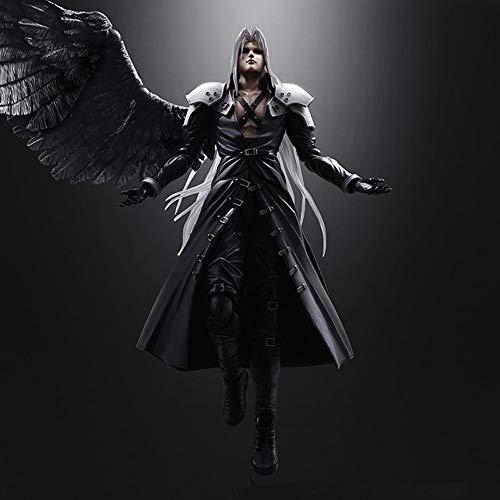 Vinteen Advenimiento de Juegos for niños Arte estatuilla FF7 Final Fantasy VII anticipadas Son PA Cambio safiros Hands-on Modelo Sephiroth