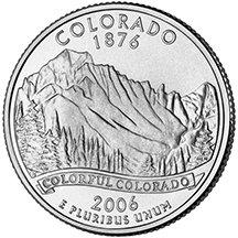 2006 D Colorado State Quarter Choice Uncirculated