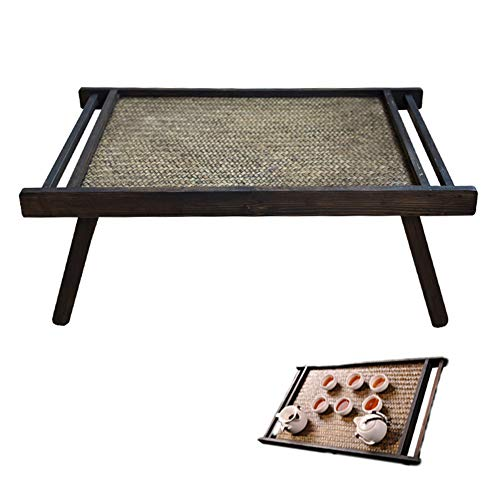 N / C Multifunctional Coffee Table, Environmentally Friendly Wood Material, Large-Size Smooth Surface, Hand-Woven, Easy To Clean