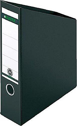 LEITZ Stehsammler Hartpappe 2423/2423-00-95, schwarz, 80x245x320/200mm