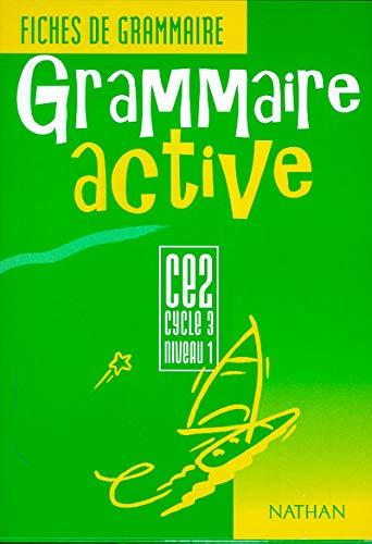 Grammaire active CE2. Fiches de grammaire. Per la Scuola elementare