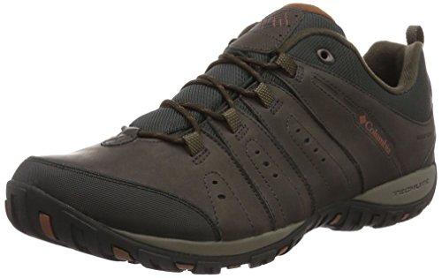 Columbia Herren Woodburn Li' Scarpe da Nordic Walking, Braun Braun Cordovan Cinnamon, 45 EU