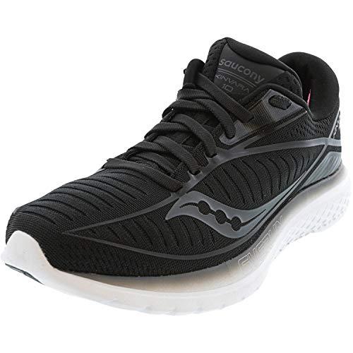 Saucony Women's Kinvara 10 Running Shoe, Black, 9.5 M US