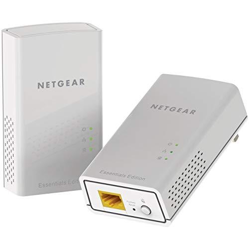 Netgear PL1000-100PES - Kit de adaptadores PLC Powerline Gigabit (1 Puerto Ethernet...