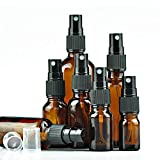 Sunnykud 5 Stück Glas Spray Flaschen mit feinen Nebel Spray Sprühflasche Klein Glasflasche...
