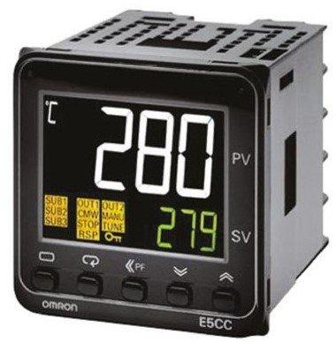 E5CC-QX2ABM-800-Temperature Controller, Digital, 48x48mm, E5CC Series, Voltage Output, 100-240Vac