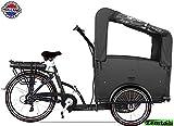 Elektro Transportfahrrad/Bakfiets Vogue Troy 7 Gang DR schwarz auf elektro-fahrzeug-kaufen.de ansehen