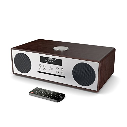Majority Oakington DAB / DAB+ digitales Radio, CD-Player, Bluetooth, Stereo-Lautsprechersystem, Fernbedienung, doppelter USB Eingang / Aufladen, AUX-In