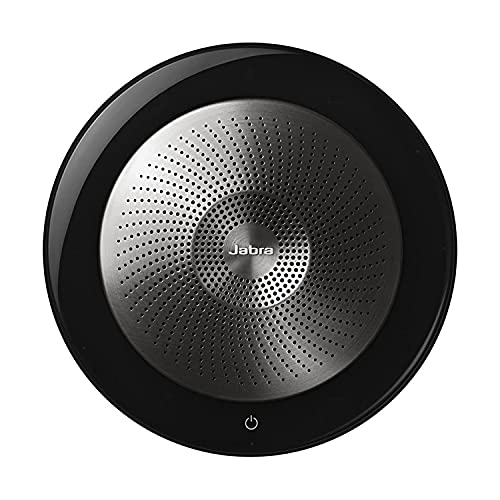 Jabra Speak 710 Wireless Portable Bluetooth Speaker - Holds Meetings Anywhere with Outstanding Sound Quality - UC-Optimized (New)