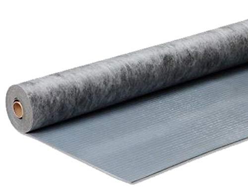Dämmmatte uficell® VinoStick® silentPremium, selbstklebende Akustikmatte für Klebe Vinylböden, Flächengewicht ca. 2,6 kg/m² Druckfestigkeit: 450 kPa, Rollengröße: 7,5 m² (4 Rollen | 30 m²)