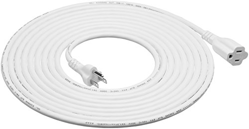 indoor extension cord white - 5