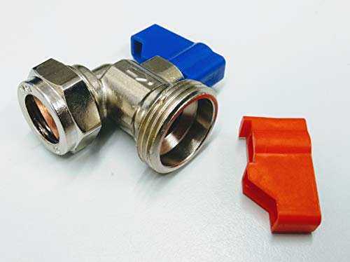 15mm x 3/4 Angled Washing Machine Valve by Primaflow