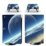 DolDer PS5 - Pellicola protettiva per console Sony PS5 e 2 controller Dualshock (0411)