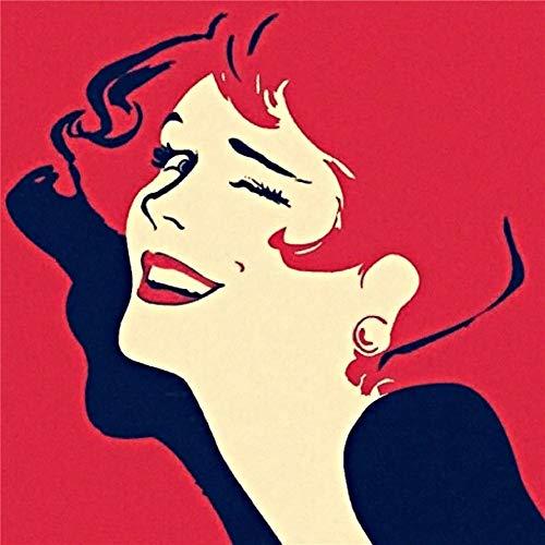 5D DIY Diamant Peinture Broderie,veyikdg Ciel Étoqué Bateau Belles Femmes Fille Branche Oiseau Cascade Strass Collé Point De Croix en Cristal 30X30cm Maison Lit Salon Décoration Peintures Cadeau (B)