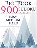 Big Sudoku Book 900 Puzzles by Dorothy Lech: With Solutions, Easy, Medium, Hard