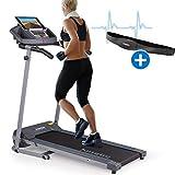 Kinetic Sports Laufband inkl. Pulsgurt 500 Watt leiser Elektromotor 12 Pogramme, GEH- und...