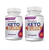 Revolyn Keto Burn - Diätpille für effektiven Gewichtsverlust (2 Flaschen) | Lieferung nach DE-AT...