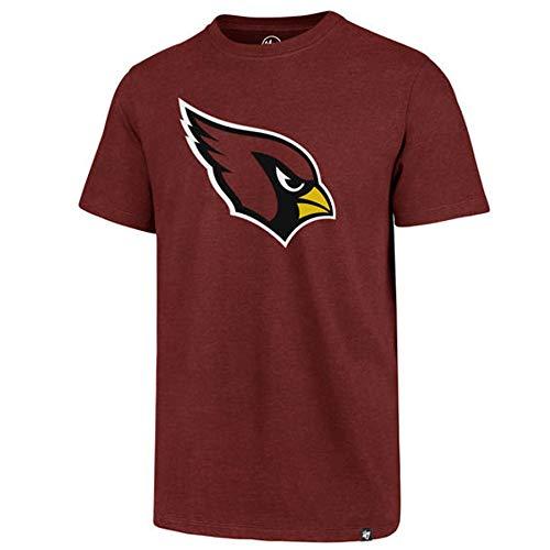 '47 Men's Arizona Cardinals T Shirt (Cardinal, Small)