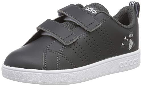 adidas Unisex Baby VS ADV CL CMF INF Sneaker, Grau (Grey/Footwear White/Aero Blue 0), 21 EU