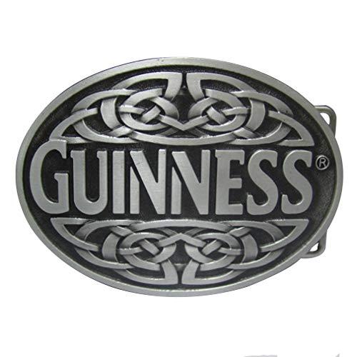 LKMY Celtic Knot Oval Belt Buckle,American Keltic Irish Scottish Celtic Cross For Mens Womens (B)