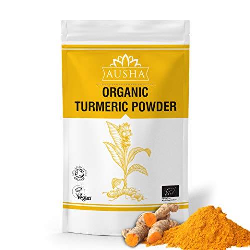 AUSHA Organic Turmeric Powder 2kg | Curcumin 4% | Anti-Inflammatory,Immunity,Anti-Oxidants,Skin,Joints