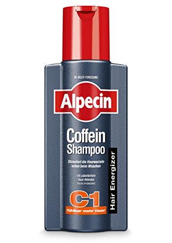 Alpecin Coffein-Shampoo C1, 1 x 250ml - Beugt erblich bedingtem Haarausfall vor, für fühlbar mehr Haar