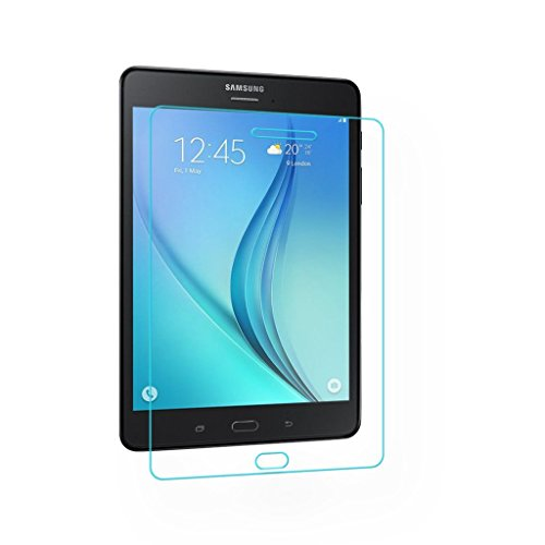 Acm Tempered Glass Screenguard For Samsung Galaxy Tab A T355 8.0 Tablet Screen Guard Scratch Protector