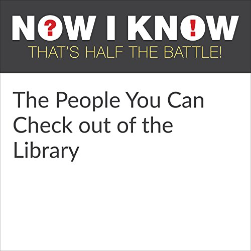 The People You Can Check out of the Library audiobook cover art